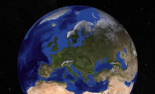 Earth-showing-Europe_art